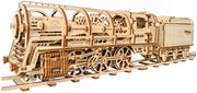 UGears Locomotive with Tender фото